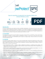 ShadowProtect SPX Data Sheet DSX0616ES 0