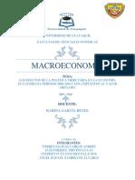 Proyecto Macroeconomia Impuesto Al Valor Agregado