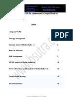 Strategic Management Dabur India Limited