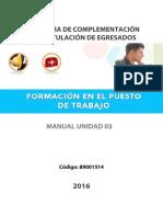 Manual Fpt u03