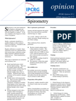spirometry