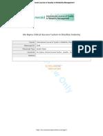 Six Sigma Critical Success Factors in Brazilian Industry.pdf