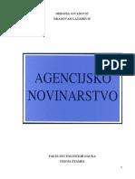 AGENCIJSKO NOVINARSTVO - Nebojša Jovanović - Dragovan Lazarević