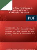 CÓDIGO DE ÉTICA PROFESIONAL EL COLEGIO DE ABOGADOS.pptx