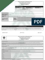 Reporte Proyecto Formativo - 926634 - Principios de Sello Ambiental