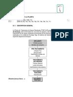 Manual de Operación de La Ptar Sur Durango.