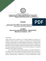 Reseña - Linera La potencia plebeya Por Barra Ponce
