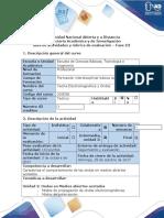Guía de Actividades y Rubrica de Evaluación - Fase III - Comprender El Comportamiento de Las Ondas en Medios Abiertos Acotados