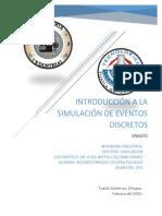 Introducción a La Simulación de Eventos Discretos. Olivera Palacios Ricardo Enrique