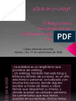 Blogs en La Educacion
