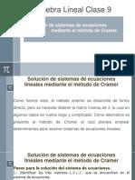 Álgebra Lineal Clase 09