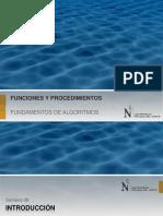FA - 08 - Funciones y Procedimientos