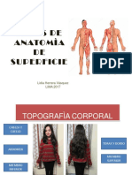 Atlas de Anatomia Superficial