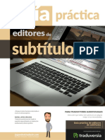 Guia Editores Subtitulos Traduversia 2017