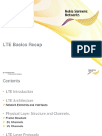 LTE Basics Recap
