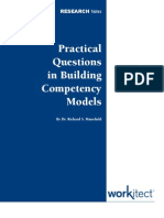 Competency Models