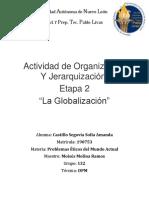 PEMA Act. de organizacion y jerarquizacion Etapa 2
