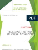 Procedimientos Para La Aplicación de Sanciones