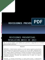 Revision Preventiva