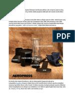 # 11 Fathur Rahman-espresso,Aeropress, Dan Vietnam Drip