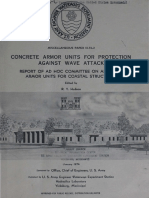 "Hudson, R.Y. 1974. ""Concrete Armor Units for Protection Against Wave"