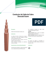 Cable Cobre Desnudo Suave General Cable