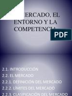 El Mercado, El Entorno y La Competencia