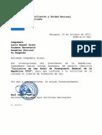 Ley Anual Presupuesto General de La República 2018
