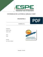 Soldadura FCAW con acero ASTM 588