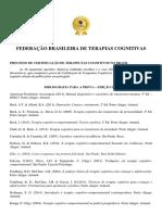 Bibliografia Para Prova de Certificacao Edicao 2017