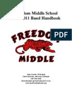 Band Handbook 2010-2011