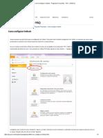 Como Configurar Outlook - Preguntas Frecuentes - FAQ - JAVACOL