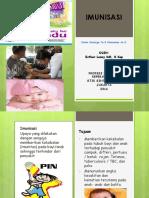 booklet imunisasi