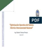 Presentación Optimización Operativa de SEP