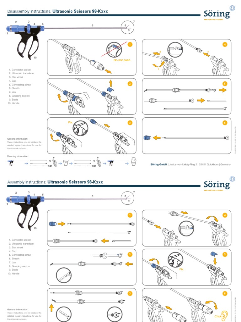 Ultrasonic Scissors 98-Kxxx MA R01 01 en-GB 03-4821
