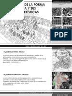 Estructura de La Forma Urbana