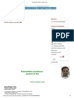 Estomatitis protésica (2004)
