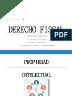 Propiedad Intelectual Derecho Fiscal PDF