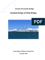 Introduction of Detailed Design of Main Bridge (for Project)