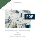Semiconductores y Materiales Tipo P y N