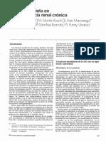 Nutrición y dieta en la insuficiencia renal cronica