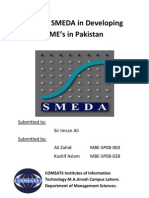 Role of SMEDA in Developing SME's in Pakistan