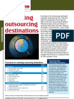 Evaluating Outsourcing Destinations