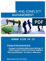 Change & Conflict Management