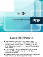 MUN for Dummies