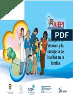 Guía Para La Atención y Consejería de La Niñez en La Familia
