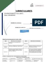 Ajustes Curriculares - Primaria 6o