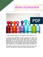 Benéficios Da Agua Solarizada - Glauciane Lourenço