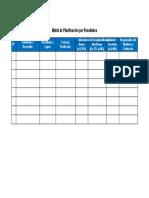 Matriz de Planificación Por Resultados