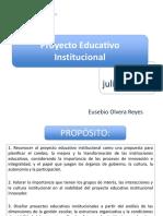 Proyecto Educativo Institucional el inicio